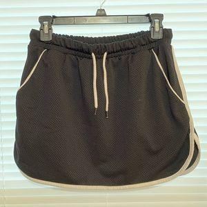 Mesh sporty skirt